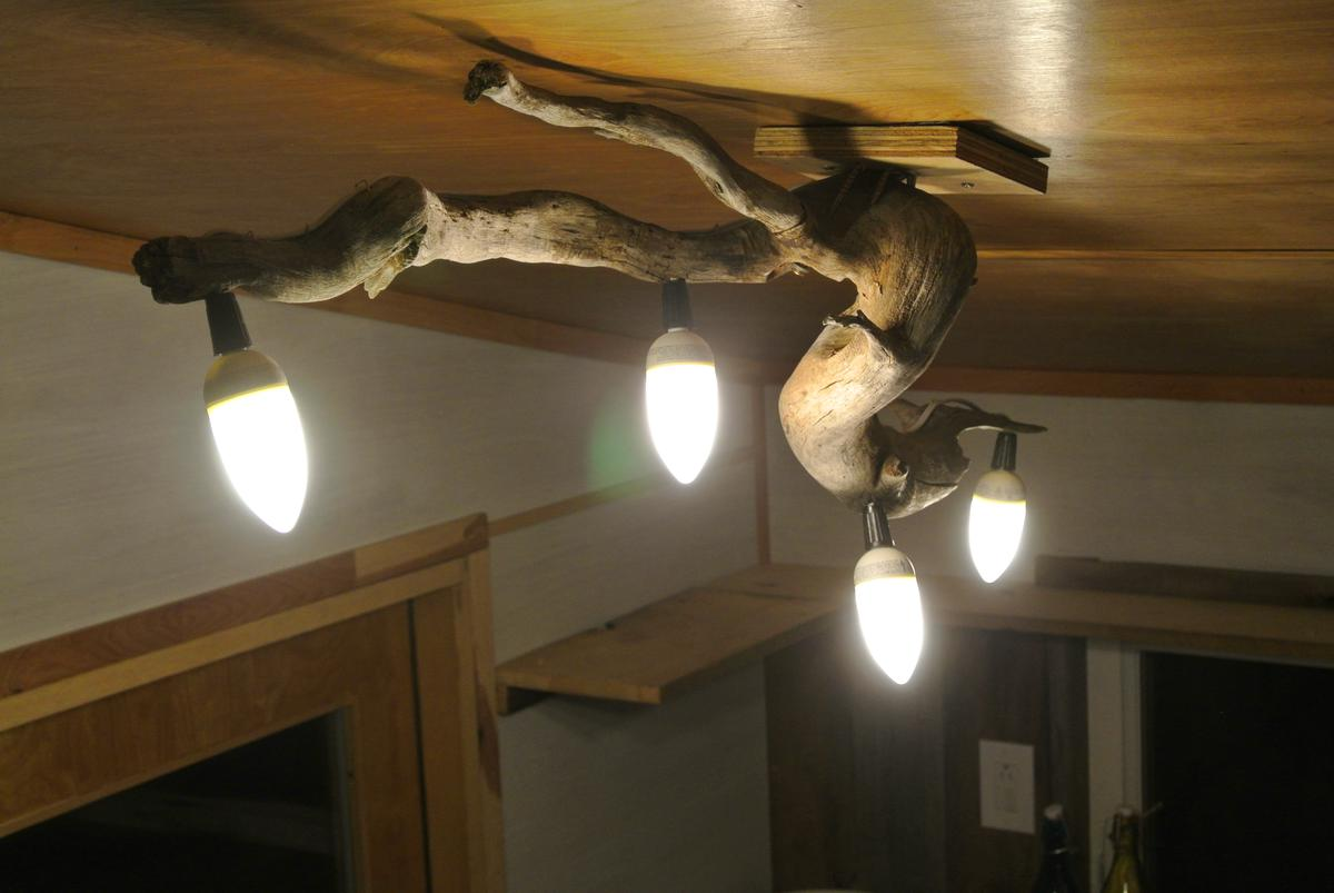 Bedroom Light Fixture Ideas Live Simply Rocky Mountain Tiny Houses