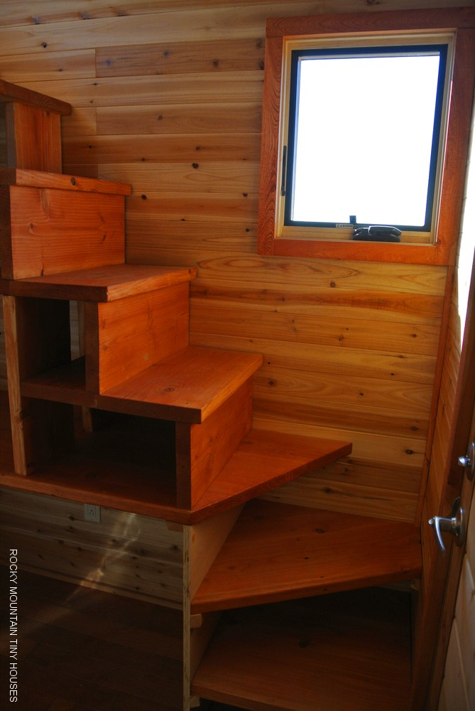 Tiny Home Designs: A River Runs Through It: Custom Gooseneck Tiny House
