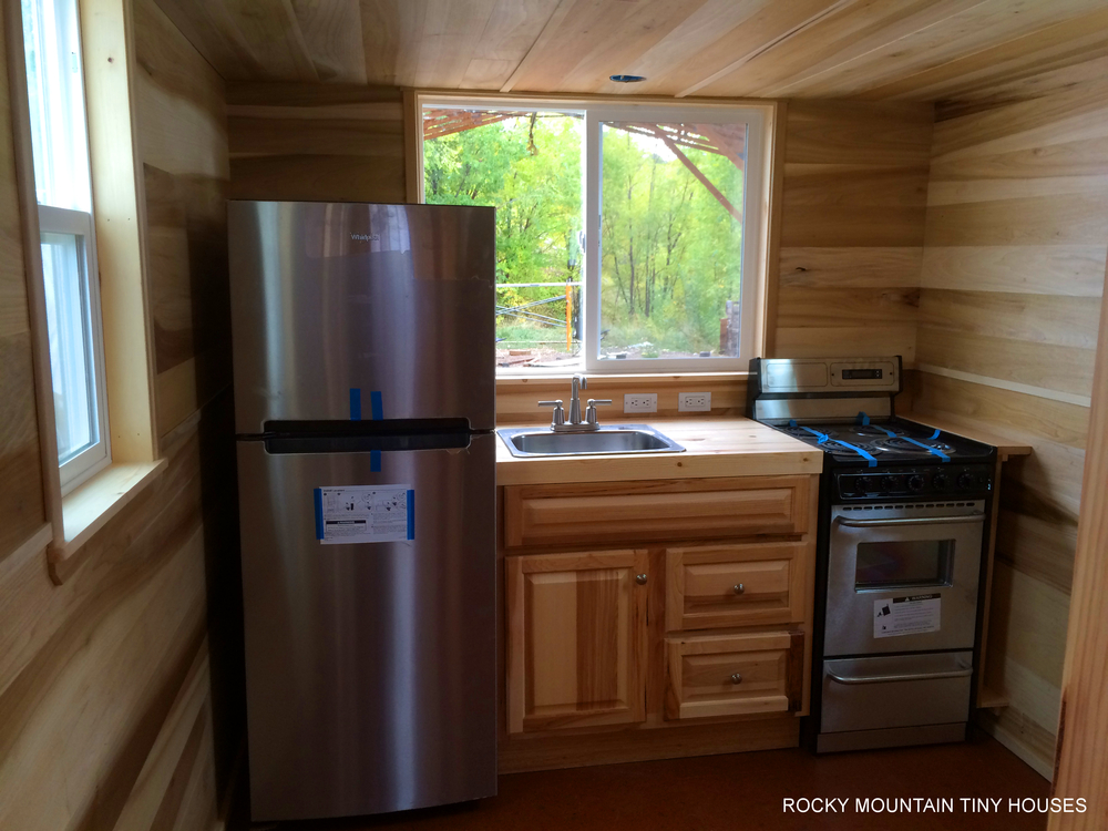 kitchen designs small houses bayfield tiny house rocky mountain tiny houses 182