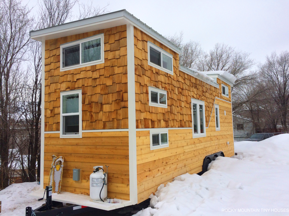 Wasatch 28 Tiny House Exterior