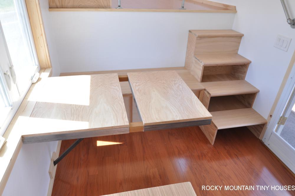 Otsego Gooseneck Tiny House Dining Room
